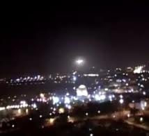 A UFO appeared over the Dome of the Rock in 2011