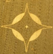 Crop circle thought to represent Venus